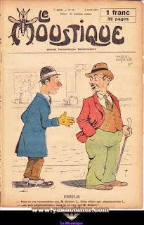Le Moustique, Journal Humoristique Hebdomadaire, numéro 14, année 1931