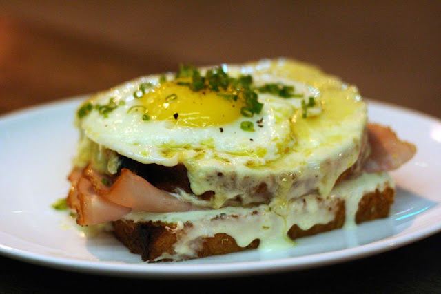 Croque Madame Wildflour Cafe + Bakery