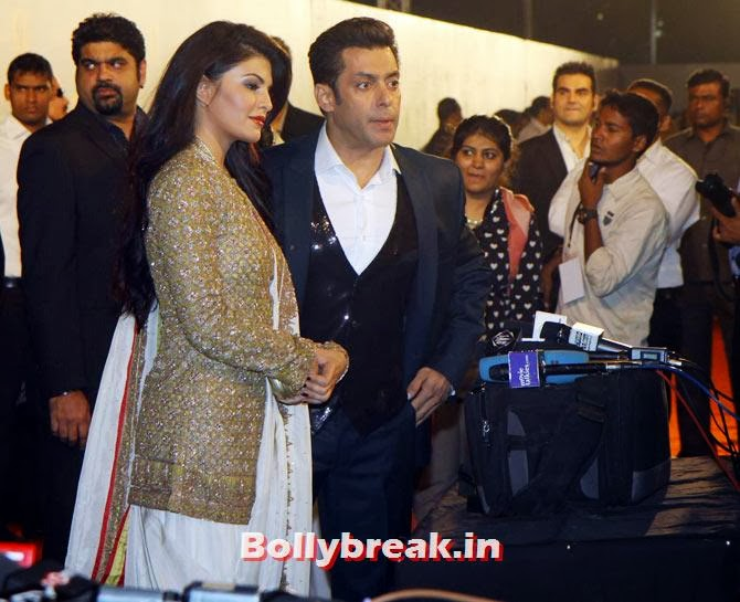 Salman Khan and Jacqueline Fernandez, Star Guild Awards 2014 Pictures