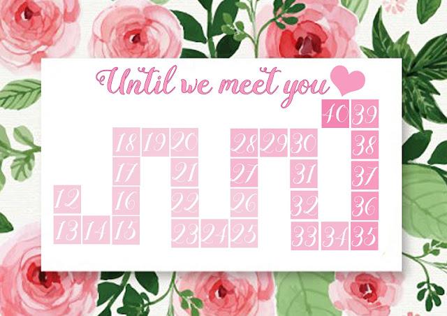 baby countdown calendar
