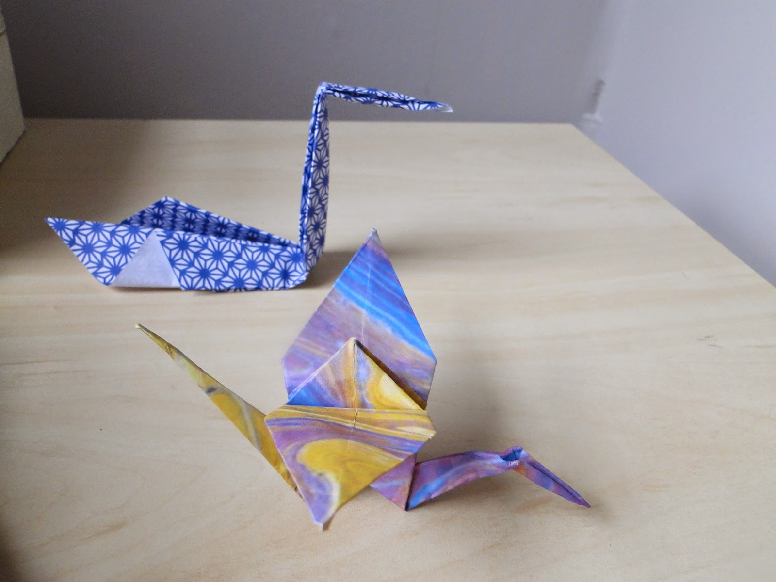 make easy origami crane ~ ideas art and craft projects - photo#47