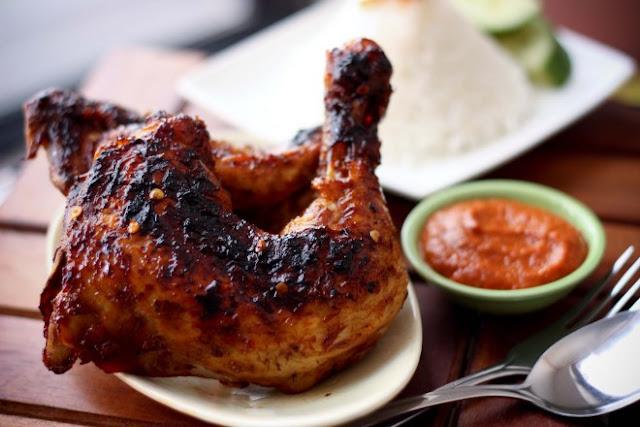 resep ayam bakar kecap bango, cara membuat ayam bakar kecap bango