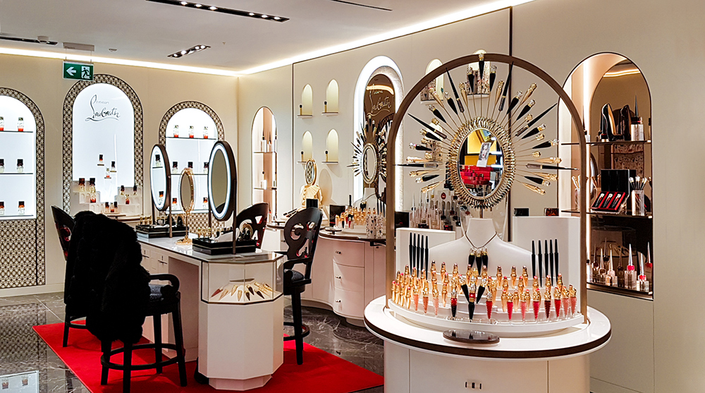 beauty corner louboutin rinascente