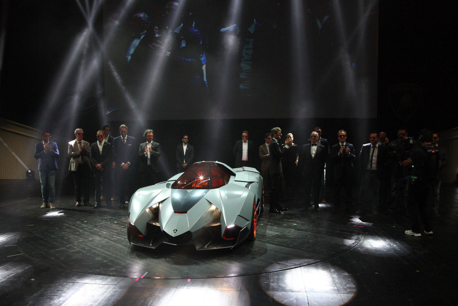 carro on Lamborghini Egoista 2013