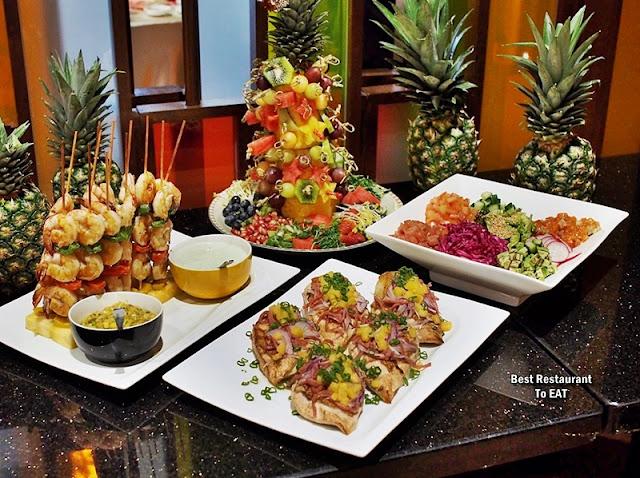 Christmas 2019 Sunway Hotel Resort Spa Dessert Menu -Hawaiian Platter