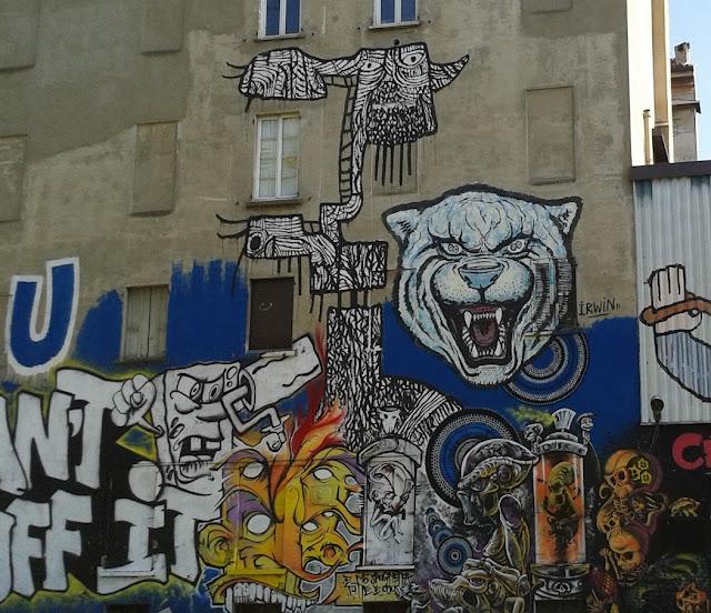 ציורי קיר בשכונת נבילי