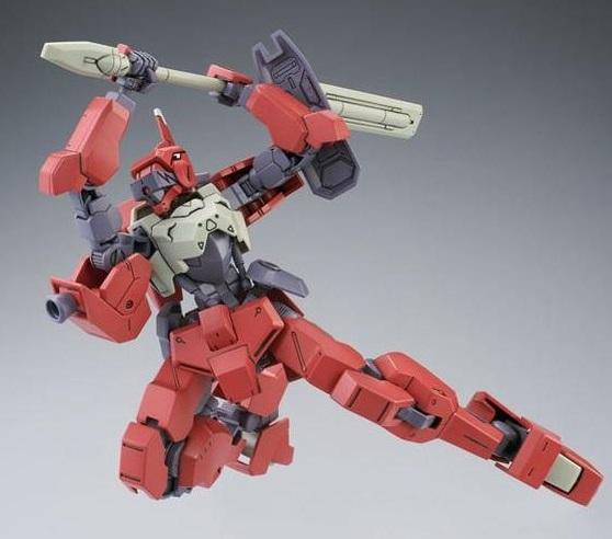 P-Bandai: HG 1/144 Io-Frame Shino's Shiden Custom (Ryusei-Go)