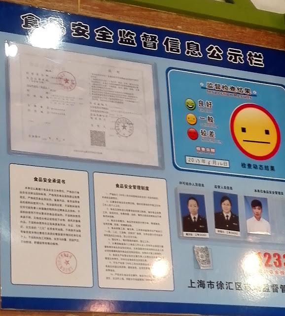食品安全監督評価ポスター