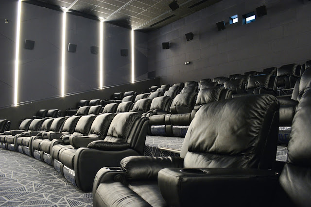 The Cinema 2 VIP Seats has 62 top of the line Luxus chairs.