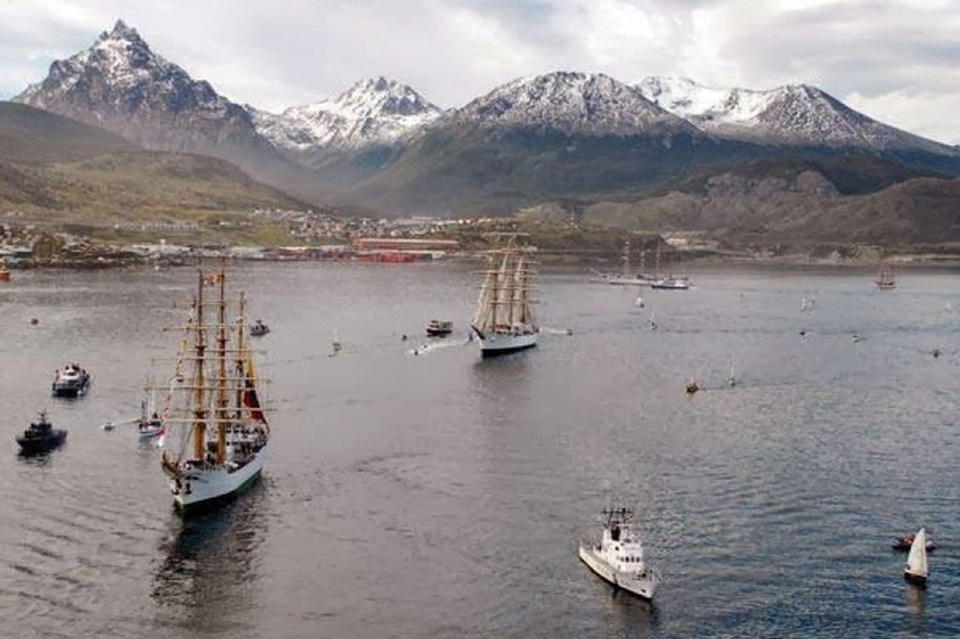 Grandes Veleros en Ushuaia se podran visitar