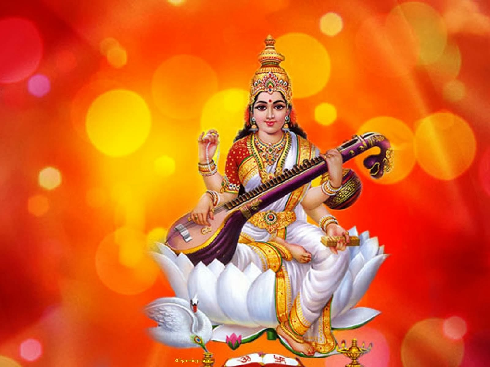 Maa Saraswati 3d Wallpaper 2013 Odisha Saree Store S Stories Basant Panchami Celebration