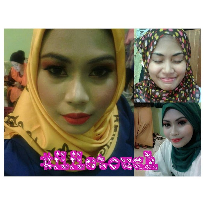 SERVICE REVIEW : MAKEUP MAKE OVER BY HAFIFIE