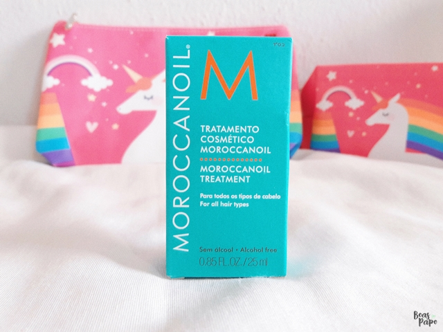 #EuTestei: Moroccanoil Oil Treatment