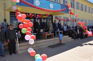 Kaymakam Sarı Kabacık İlkokulu'nda 23 Nisan Törenine Katıldı
