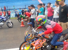 3 Video amatir Hasil race Tekno Vs Harry Motor dan detik-detik imam Ceper terjatuh.