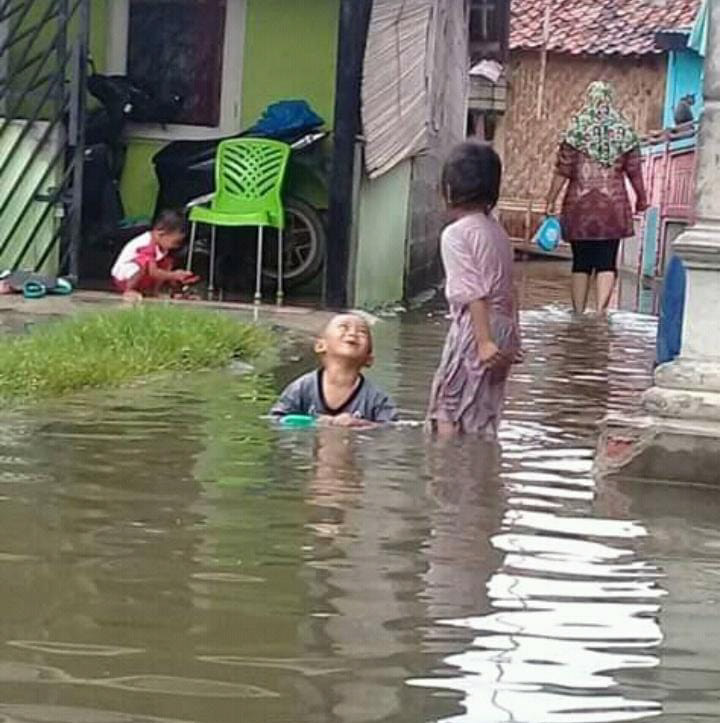 Ratusan  hektar resapan air Rawa Lumpang Raib, Rob dan Banjir Cemaskan Warga