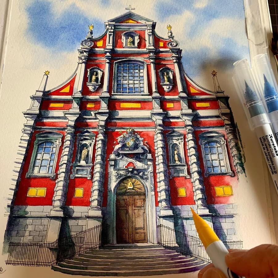 11-Church-of-Our-Lady-Drawings-Rihiko-www-designstack-co