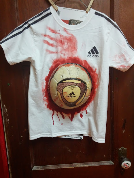 Zombie Soccer Player Halloween Costume