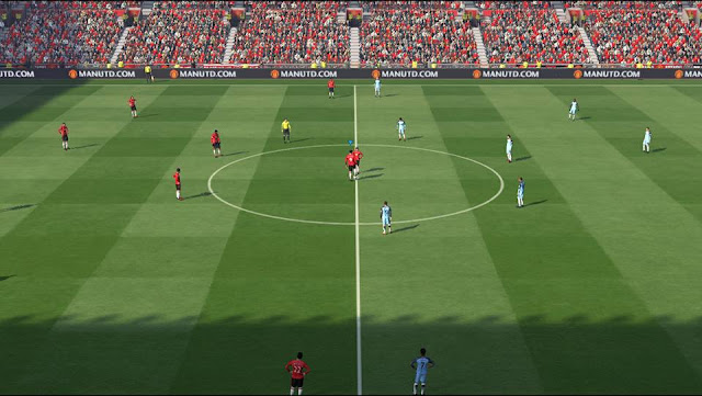 PES 2017 Pitch Frost AIO dari Frost Pitch PES AA