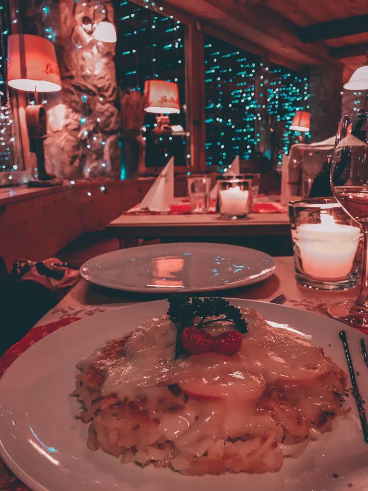 rostï La Stella saint-moritz blog voyage laquotidiennedele suisse bons plans hotel restaurant