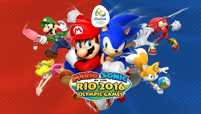 Mario & Sonic at the Rio 2016 Olympic Games é um dos lançamentos da semana