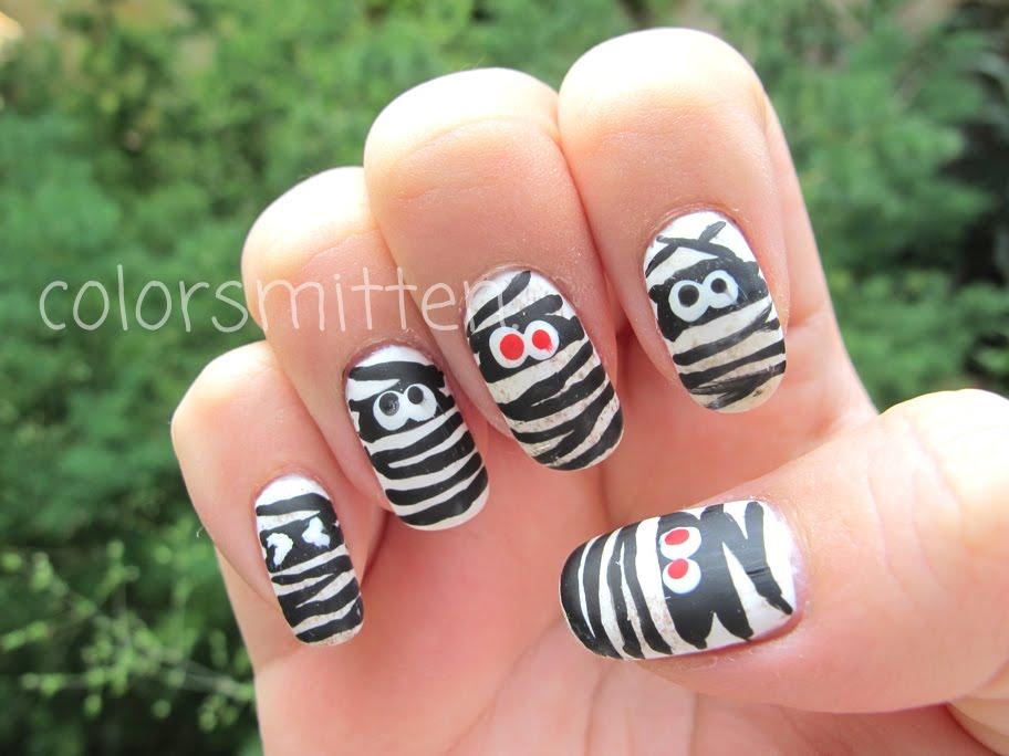 colorsmitten.: Dirty Mummy Nails
