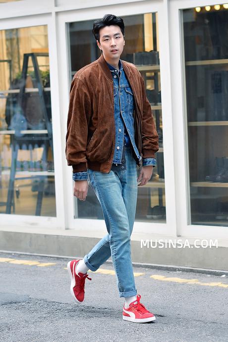 Korean Male Street Fashion