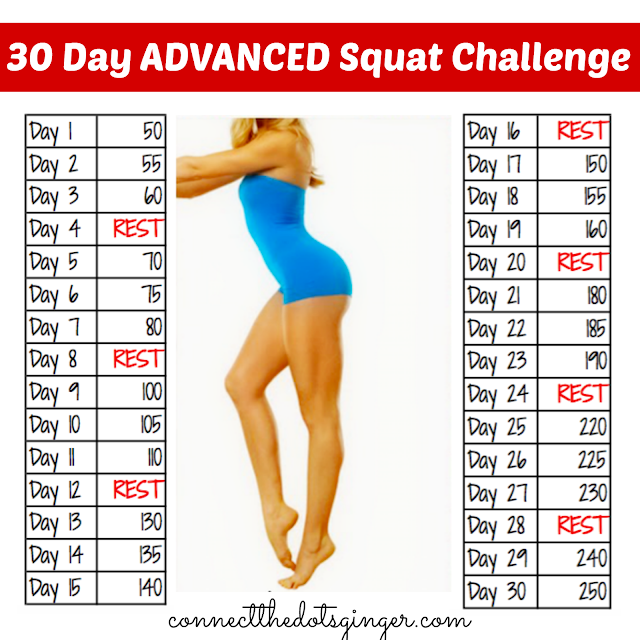 Connect the Dots Ginger | Becky Allen: May 30 Day Squat Challenge