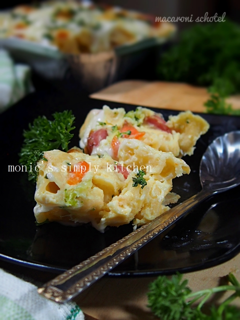 macaroni schotel resep mudah