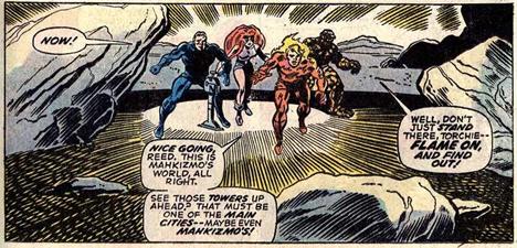 Fantastic Four 152 Mahkizmo
