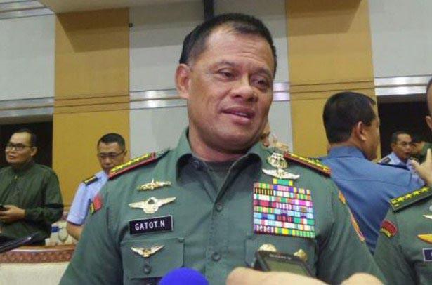 Panglima TNI Bantah Dirinya Ditegur Presiden Jokowi