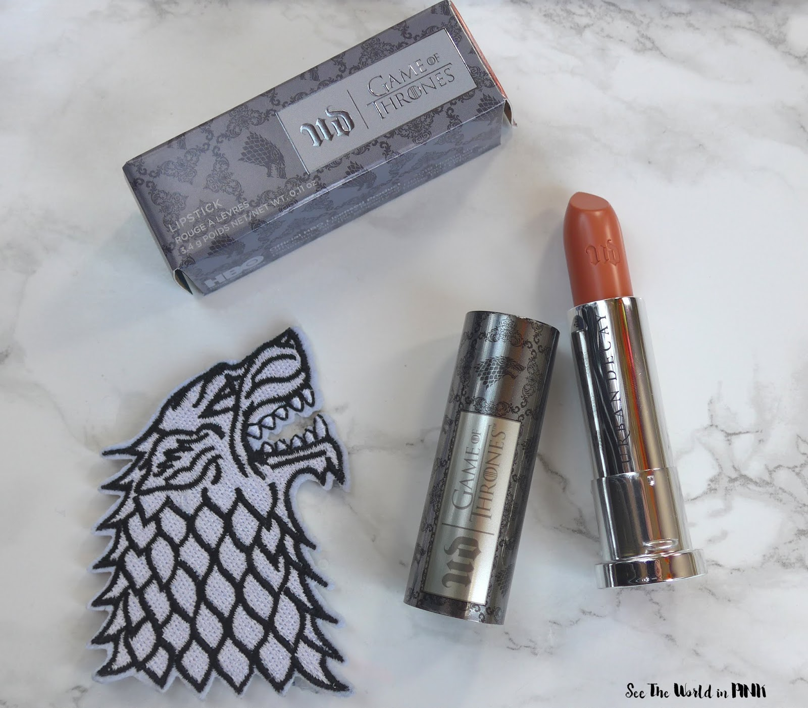 Urban Decay Game of Thrones Sansa Stark Vice Lipstick