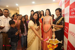 Ritu Varma Launches Anoos Salon