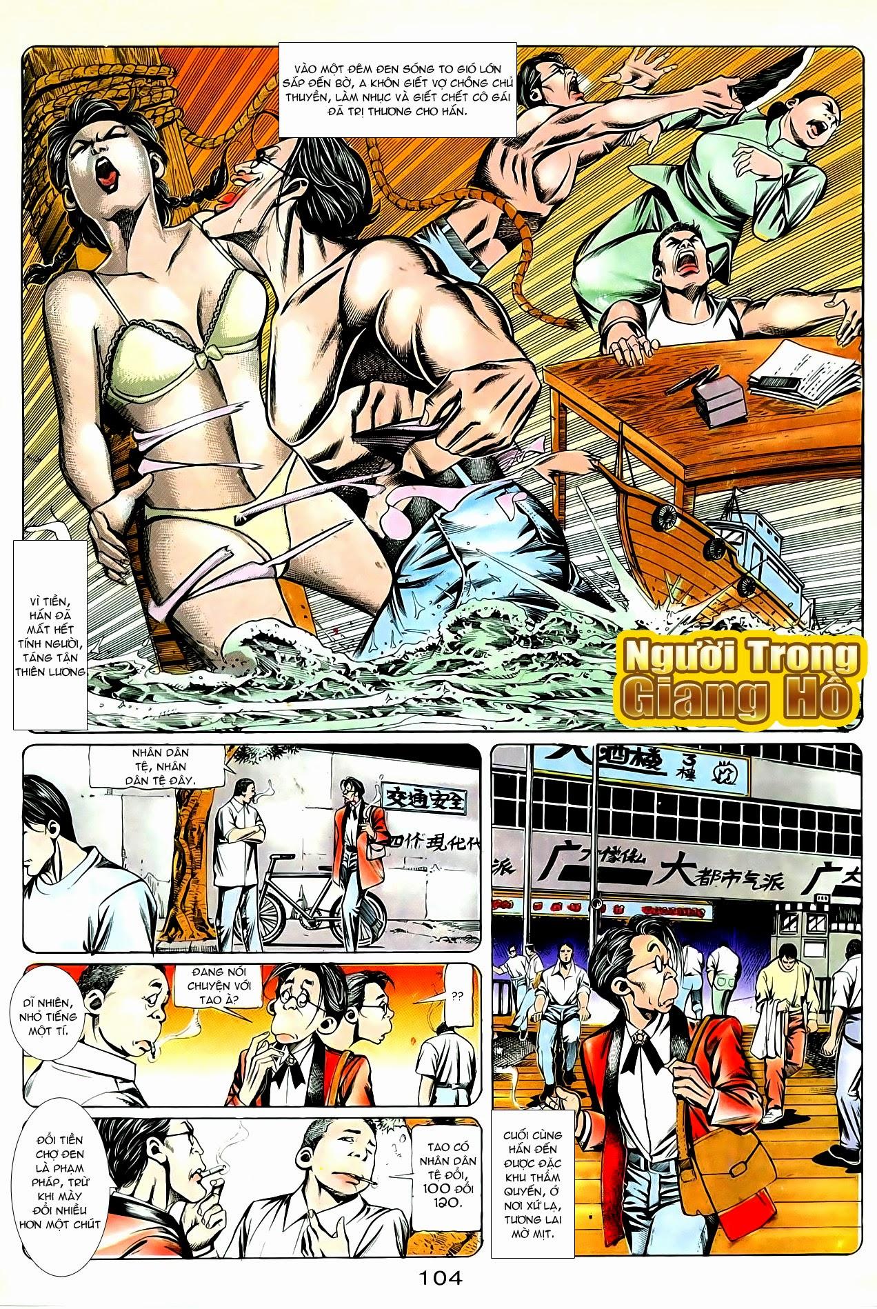 Người Trong Giang Hồ chapter 87: chống lưng của a khôn trang 18