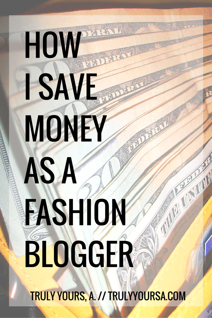 Wondering how I stay stylish as a fashion blogger without breaking the bank? I've got a couple tips, tricks, and apps that have helped me save money as a fashion blogger and now I'm sharing them all with you!