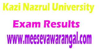 Kazi Nazrul University Supplementary Merit List For LLM 2016-17
