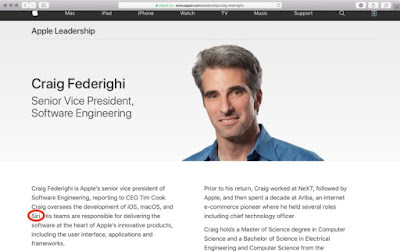 Craig Federighi is Now Overseeing the Development of Siri