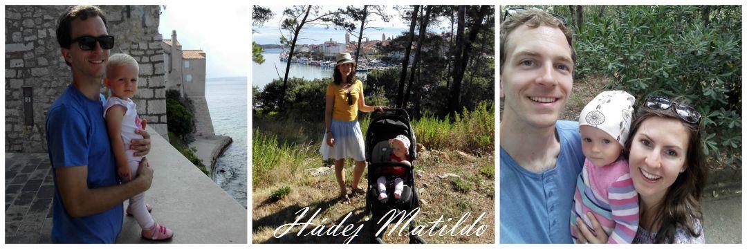 Chorvatsko, Rab,u moře s miminkem, moře a dítě, na dovolenou k moři s miminkem