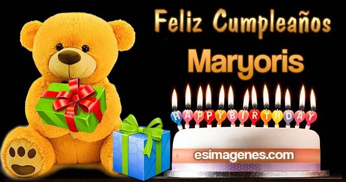 Feliz Cumpleaños Maryoris
