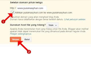 cara mengalihkan domain tanpa www ke www