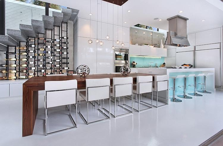 √√ KITCHEN ISLAND with Table Attached   Kitchen Design Ideas