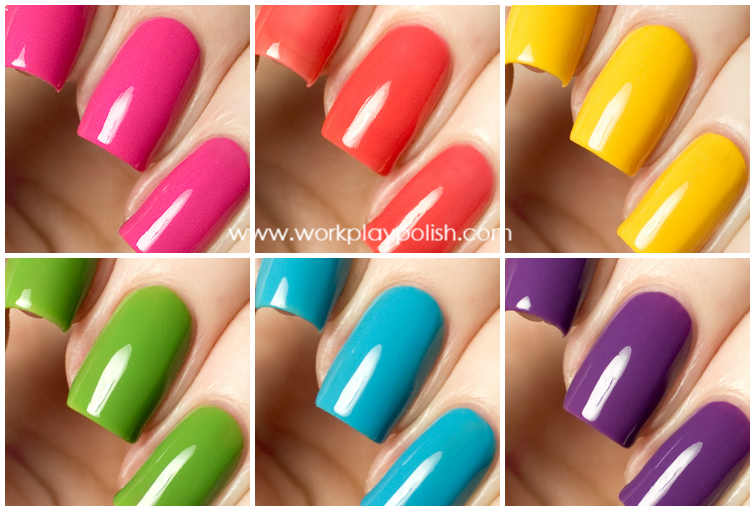 Precision Lacquers Color FX Collection (Summer 2013)