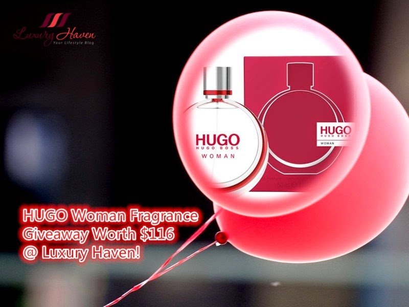hugo woman eau de parfum giveaway