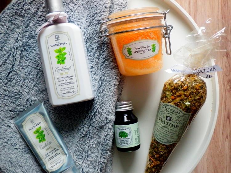 kosmetika s vřídelní solí, relax řada