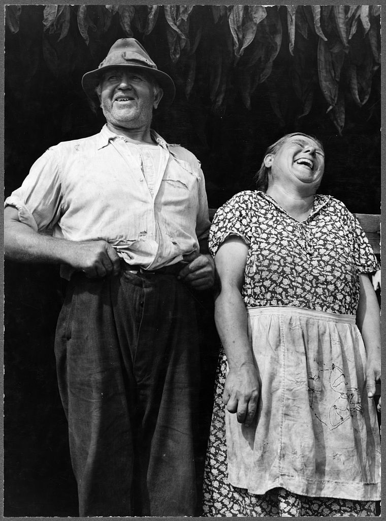 Gorgeous black and white photo of  Mr. and Mrs. Andrew Lyman, Polish tobacco farmers near Windsor Locks. Best April Fool. MarchMatron.com