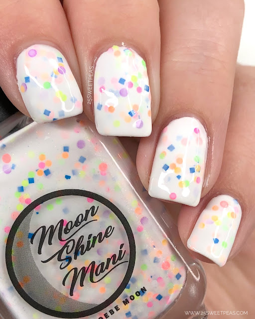 Moon Shine Mani Forking Shirtballs! 25 Sweetpeas