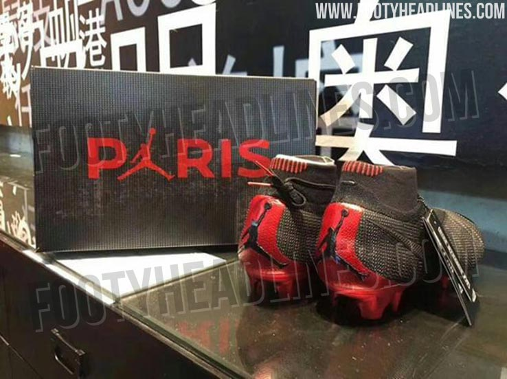 0944786b2 We have obtained exclusive pictures of a Nike x Jordan Phantom Vision boot  that is set to be launched together with the upcoming Paris Saint-Germain  ...