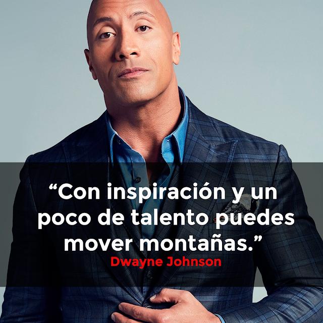 10 frases de Dwayne Johnson 'La Roca' que te llevarán a otro nivel (Imágenes + Infografía) ixousart