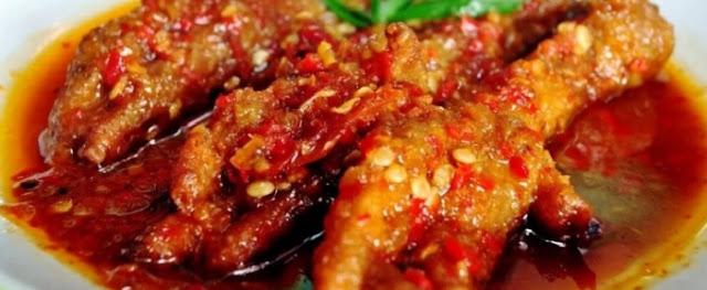 Resep Ceker Ayam Pedas Yang Maknyus