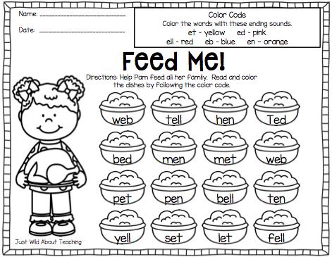 Number Names Worksheets short i sound worksheets : Short Vowel Sound Review Worksheets - short vowel sound review ...
